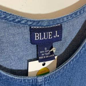 Vintage Dresses - ‼️$20 SALE‼️ Vintage Denim Overalls Mini Dress S